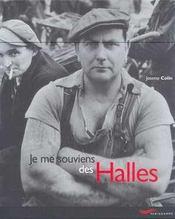 Je me souviens des halles -nouvelle edition- (édition 2001) - Intérieur - Format classique
