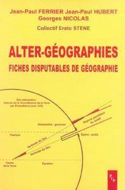 Alter geographies - Intérieur - Format classique