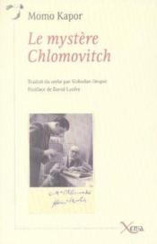 Le mystère chlomovitch - Couverture - Format classique