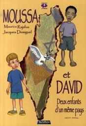 Moussa et David, deux enfants d'un même pays - Intérieur - Format classique