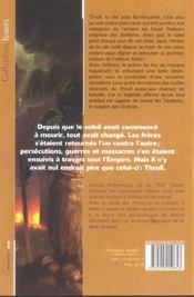 Cycle Des Porteurs De Lumiere T.1 ; La Forge Des Tenebres T.1 - 4ème de couverture - Format classique