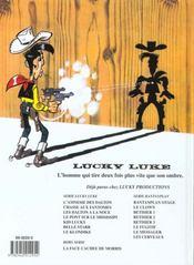 Lucky Luke T.65 ; le klondike - 4ème de couverture - Format classique