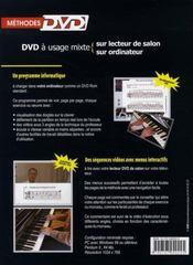Le piano des adultes - 4ème de couverture - Format classique
