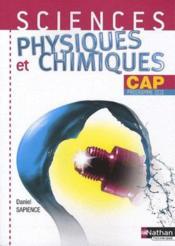 telecharger Sciences physiques et chimiques – CAP – pochette de l'eleve (edition 2010) livre PDF en ligne gratuit