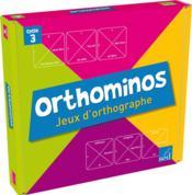 Jeux Educatifs ; Orthominos Cycle 3 ; 2 Plateaux De Jeux Et 6 Jeux De Cartes - Couverture - Format classique