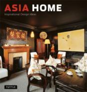 Asia Home /Anglais - Couverture - Format classique