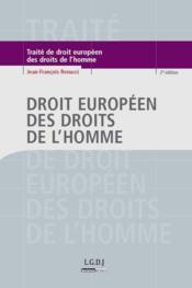 Droit européen des droits de l'homme (2e édition) - Couverture - Format classique