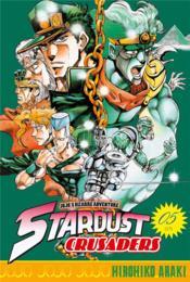 Jojo's bizarre adventure - saison 3 ; stardust crusaders T.5 - Couverture - Format classique