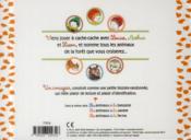 Les animaux de la forêt - 4ème de couverture - Format classique