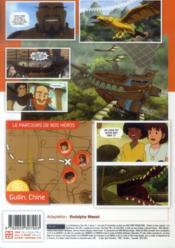 Les mystérieuses cités d'or - anime comics saison 2 t.2 - 4ème de couverture - Format classique
