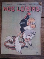 NOS LOISIRS n°7 quatrième année - Couverture - Format classique
