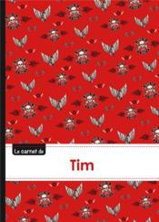 Carnet Tim Lignes,96p,A5 Bikers - Couverture - Format classique
