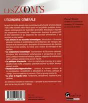 L'économie générale (8e édition) - 4ème de couverture - Format classique