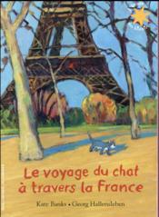 Le voyage du chat à travers la France - Couverture - Format classique