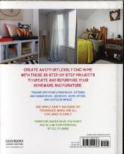 Furniture Hacks - 4ème de couverture - Format classique