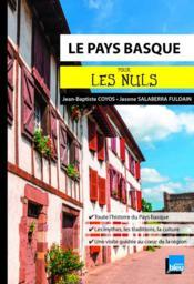 Le Pays Basque pour les nuls - Couverture - Format classique