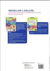 Magellan & Galilée ; questionner le monde ; CE2 ; mon fichier de trace écrite (édition 2017) - 4ème de couverture - Format classique