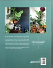 Urban jungle ; décorer avec les plantes - 4ème de couverture - Format classique