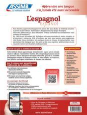 L'espagnol ; débutants et faux-débutants B2 (édition 2017) - 4ème de couverture - Format classique