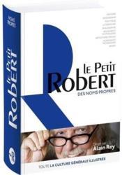 Dictionnaire le Petit Robert des noms propres - Couverture - Format classique