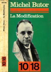 La Modification / Le Realisme Mythologique De Michel Butor. - Couverture - Format classique