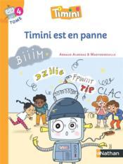 Timini T.4 ; Timini est en panne ; CP (édition 2020) - Couverture - Format classique
