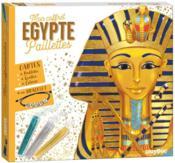 Mon coffret paillettes ; Egypte - Couverture - Format classique