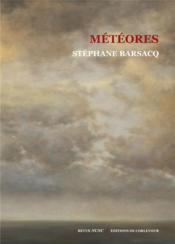 Météores - Couverture - Format classique