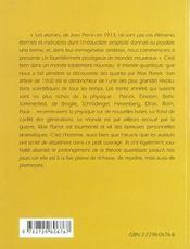 Max Planck et les quanta - 4ème de couverture - Format classique