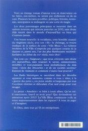 La luxure regnait sur la ville et la ville était bleue - 4ème de couverture - Format classique