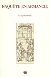 Enquete En Armancie - Couverture - Format classique