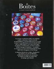 Boites emaillees - 4ème de couverture - Format classique