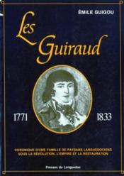 Guiraud (Les) 1771-1833 - Couverture - Format classique