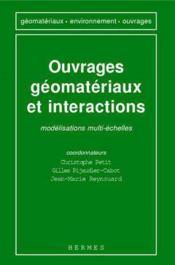Ouvrages,geomateriaux et interactions: modelisations multi echelles - Couverture - Format classique