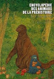 Encyclopédie des animaux de la préhistoire - Intérieur - Format classique