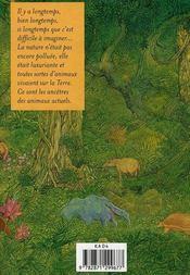Encyclopédie des animaux de la préhistoire - 4ème de couverture - Format classique