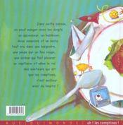 Salade De Comptines - 4ème de couverture - Format classique