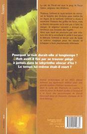 Cycle Des Porteurs De Lumiere 2 - Forge Des Tenebres 2 - 4ème de couverture - Format classique