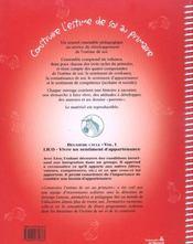Construire L'Estime De Soi A L'Ecole Primaire C2-V1 : Lico Vivre Un Sentiment D'Appartenance - 4ème de couverture - Format classique