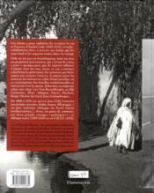 André Gide ou la tentation nomade - 4ème de couverture - Format classique