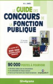 telecharger Guide des concours de la fonction publique (edition 2011-2012) livre PDF en ligne gratuit