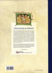 Haggadah de Pessah ; la Pâque juive - 4ème de couverture - Format classique
