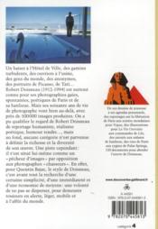 Robert Doisneau ; pêcheur d'images - 4ème de couverture - Format classique