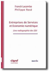 Entreprises des services et économie numérique ; une radiographie des SSII - Couverture - Format classique