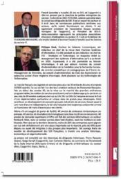 Entreprises des services et économie numérique ; une radiographie des SSII - 4ème de couverture - Format classique