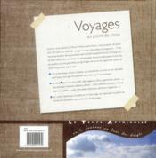 Voyages au point de croix - 4ème de couverture - Format classique