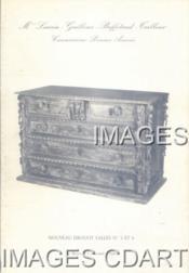 TABLEAUX ANCIENS. MOBILIER ANCIENS. [ MONGIN. VIERGE A L'ENFANT. ROUET. COFFRE EN NOYER BLOND,,,}. 03/12/1980. (Poids de 110 grammes) - Couverture - Format classique
