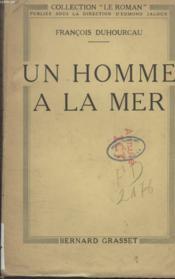 Un Homme A La Mer. - Couverture - Format classique