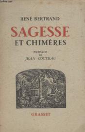 Sagesse Et Chimeres. - Couverture - Format classique
