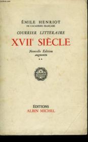 Courrier Litteraire Xviieme Siecle. Tome 2. - Couverture - Format classique
